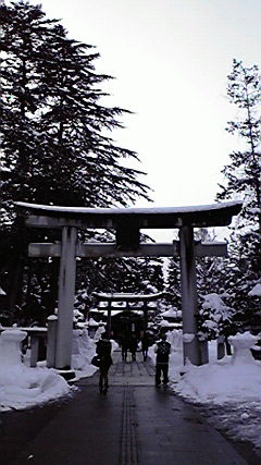 上杉神社へ